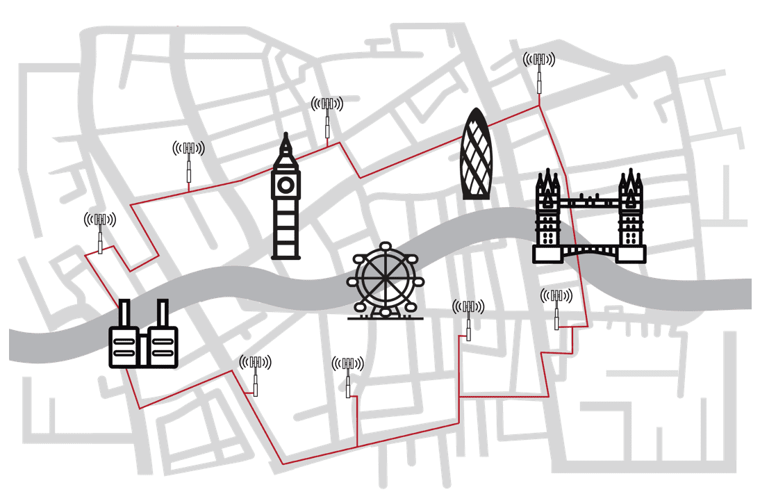 London mobile centric fibre for 5G